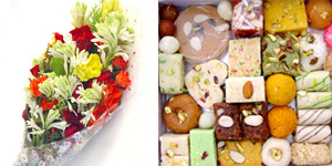 flowers-bunch-sweets-mithai-2kg
