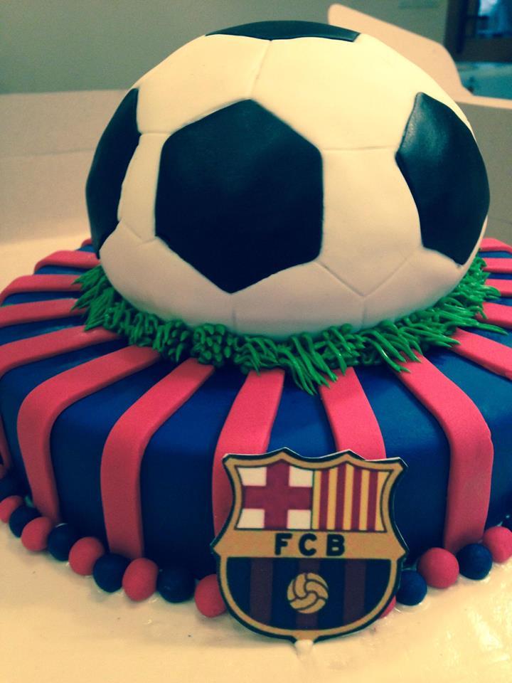 Send Cakes Barcelona Cake Fcb 8 Lbs Gift To Pakistan