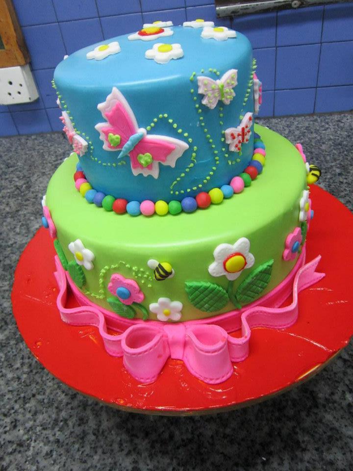 Butterfly Delight Cake