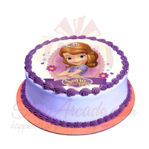Send Cakes Sofia The First Cake 2lbs Sachas Gift To
