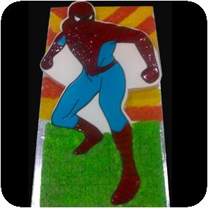 Spider Man Cake Large 8 lbs