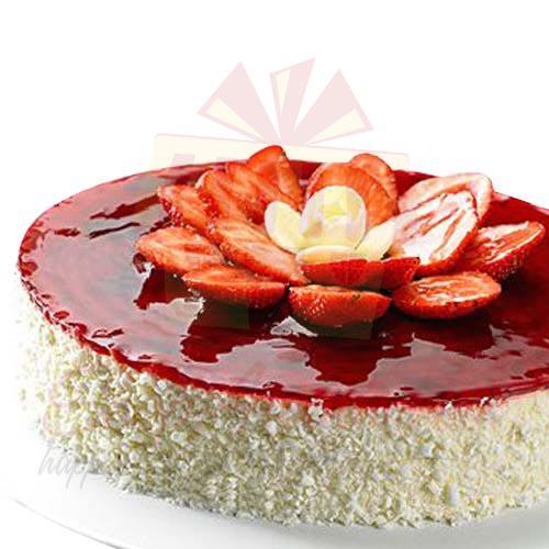Strawberry Cheese Cake 2lbs - La Farine