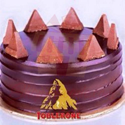 Chocolate Toblerone Cake 2lbs Gloria Jeans