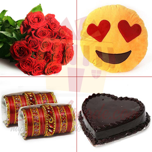 Love Message For Her (4 In 1)