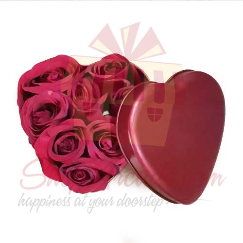 Roses In A Tin Heart