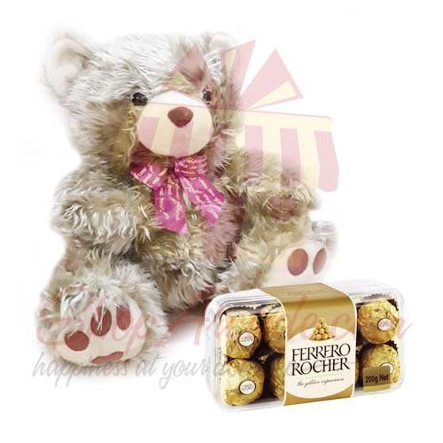 Ferrero With Golden Teddy