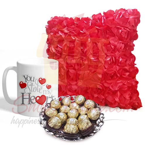 Cushion Mug And Rochers