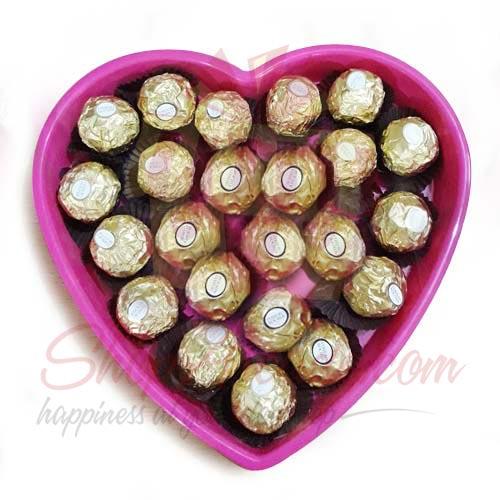 Ferrero Heart Tray