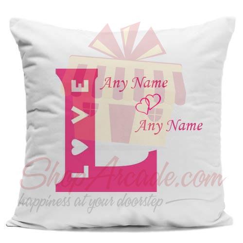 Love Name Cushion