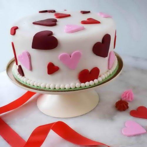 Valentines Chocolate Cake 2lbs