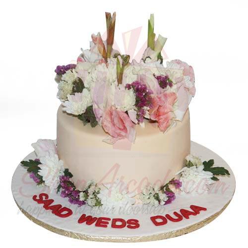 Real Flower Cake 4lbs-Sachas