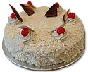 White Forest Cake 4 lbs from Avari Hotel