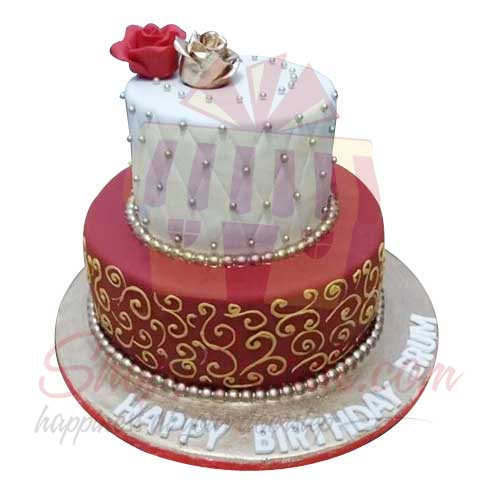 Fabulous Send Cakes Special Birthday Cake 8Lbs Black And Brown Gift To Personalised Birthday Cards Petedlily Jamesorg