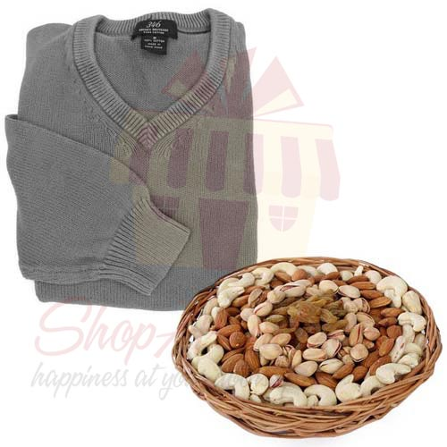 Dry Fruit With Sweater