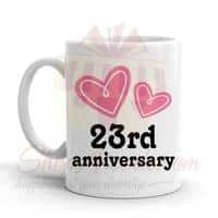 23rd-anniversary-mug