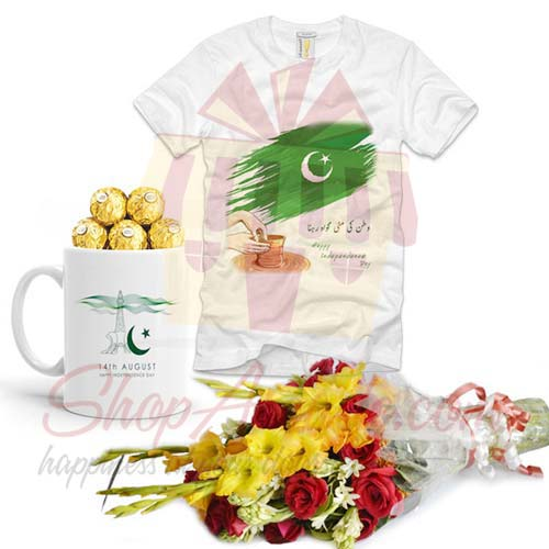 azaadi-mug-tshirt-with-flowers