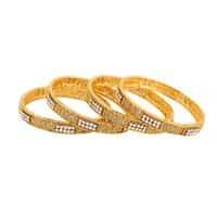 bangles-(golden)---set-of-four-for-women