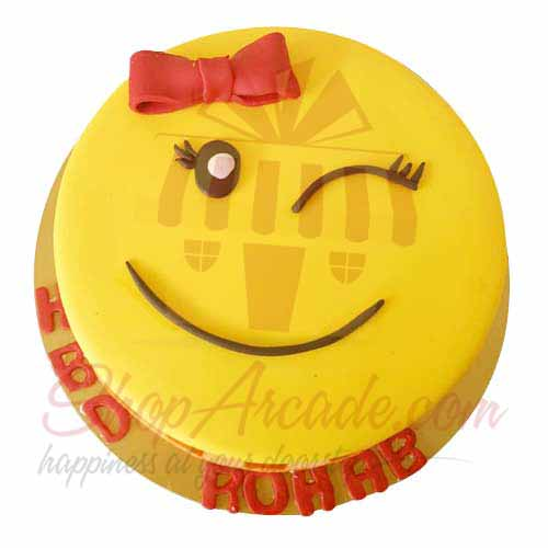 winking-smiely-cake-5lbs-blue-ribbon