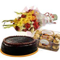 cake-chocolate-flowers