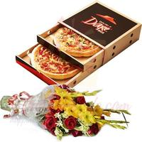 bouquet-with-pizza-hut-deal