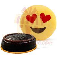 cake-with-love-emoji-cushion