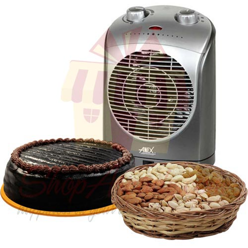 heater,-dry-fruits-and-cake