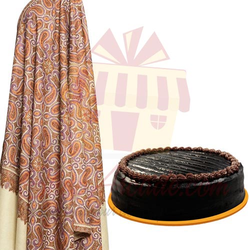 shawl-with-cake