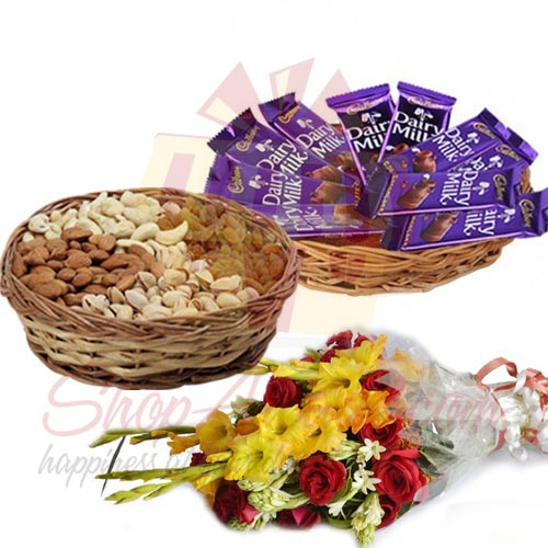 choco-dry-fruit-basket-with-flowers