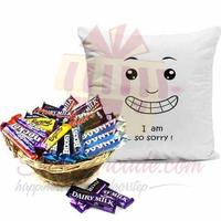 sorry-cushion-with-choc-basket