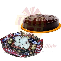 teddy-choco-tray-with-cake