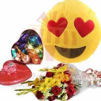 emoji-cushion-choc-tin-and-flowers