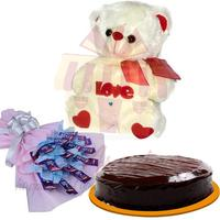 dairy-milk-bouquet-and-teddy-with-cake