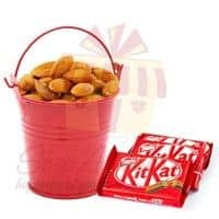 almond-bucket-with-kit-kat