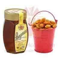 almond-bucket-with-honey