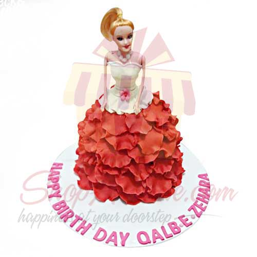 doll-cake---black-and-brown