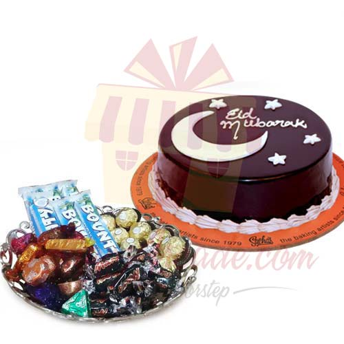 eid-cake-with-choc-tray