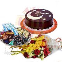 eid-cake-choc-tray-flowers