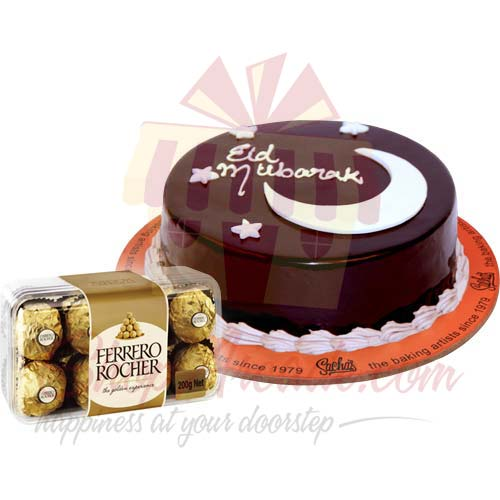 eid-cake-with-ferrero