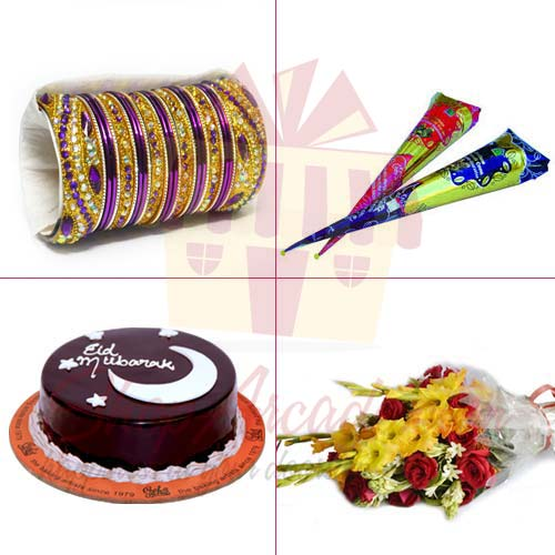 choori-mehendi-cake-flowers
