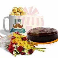 ferrero-mug-with-cake-and-flowers