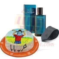 perfume-tie-with-shukriya-baba-cake