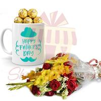 ferrero-mug-with-flowers-for-pappa
