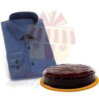 blue-striped-shirt-with-cake