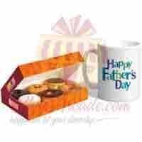 donuts-and-mug-for-dad