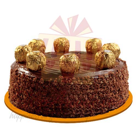 ferro-rocher-cake---black-and-brown