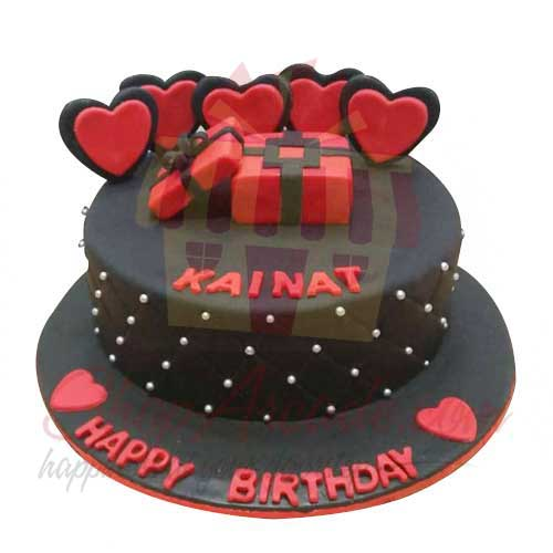 heart-cake---black-and-brown