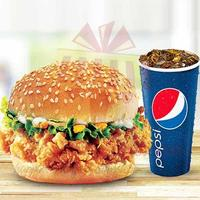 krunch-burger-with-drink---kfc