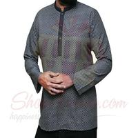 short-kurta-black