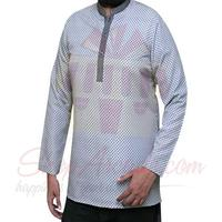short-kurta-white
