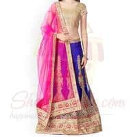 royal-blue-lehenga
